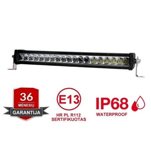 LED BAR sertifikuotas žibintas 120W