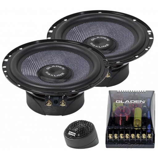Gladen Audio SQX 165 DUAL
